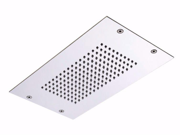 Extra flat stainless steel rain shower MODULAR F2805 by FIMA Carlo Frattini