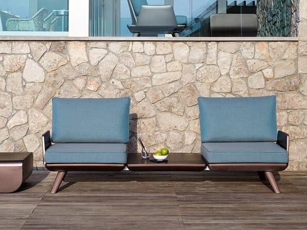 Modular fabric garden sofa SAMURAI | Modular garden sofa by Myyour