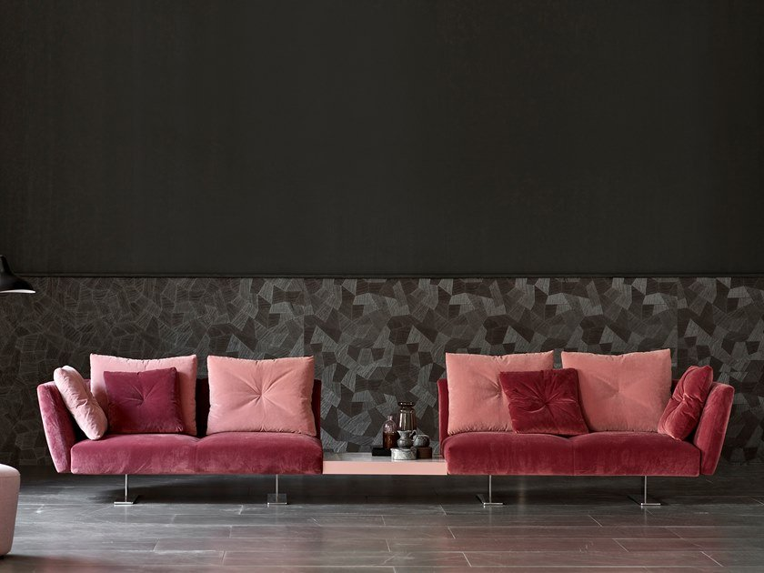 Modular fabric sofa with removable cover SAINT BARTH | Modular sofa by ESTEL GROUP