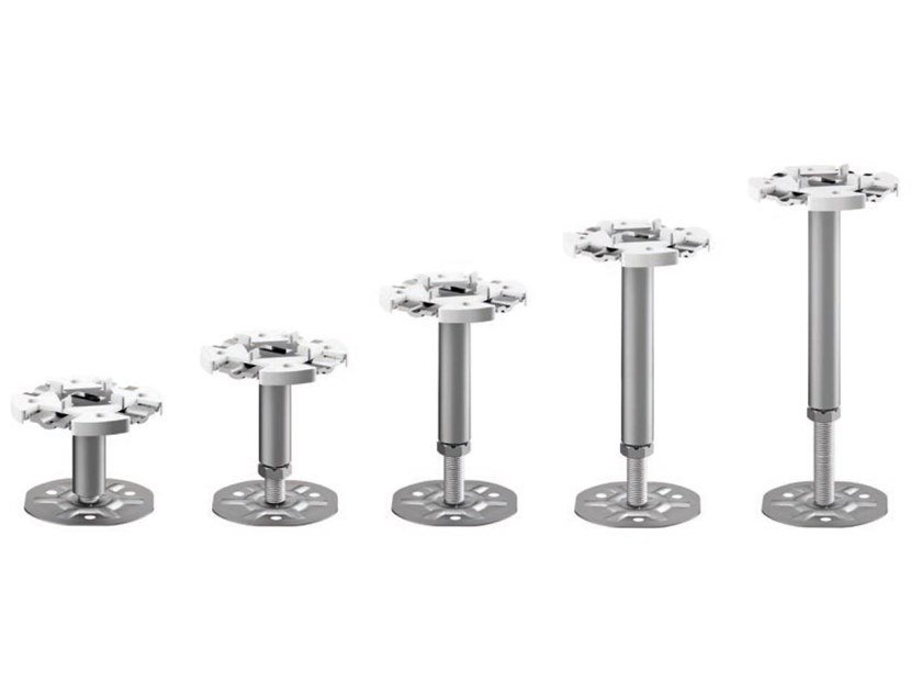 Steel vertical adjustable supports INSIDE | Supports by ETERNO IVICA