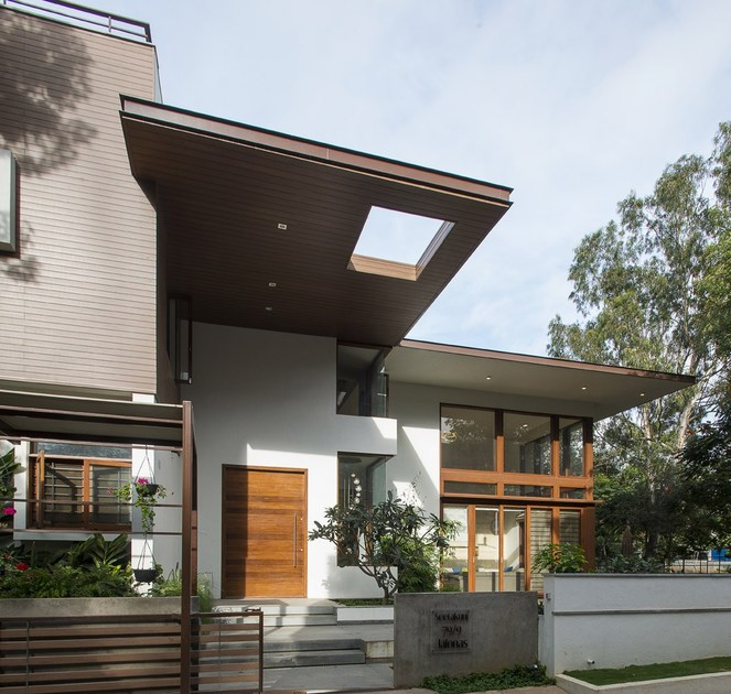Modern Kitchen Design Ideas From Bangalore Homes  C2NyYXBlLTEtNWlCMVAz: Outdoor Ceiling Modulatus Collection By WOODN
