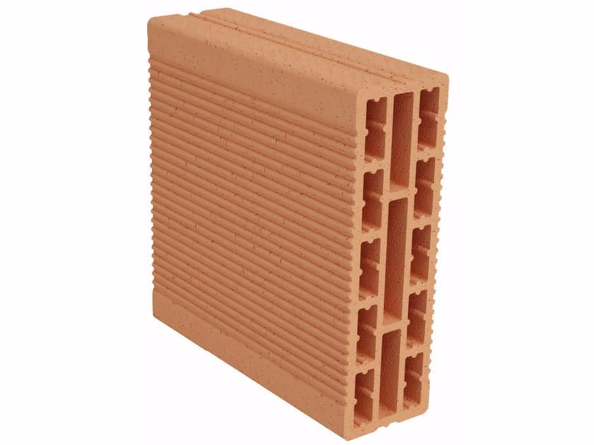 Clay building block Modulo FO MO080 by Fornaci Ioniche