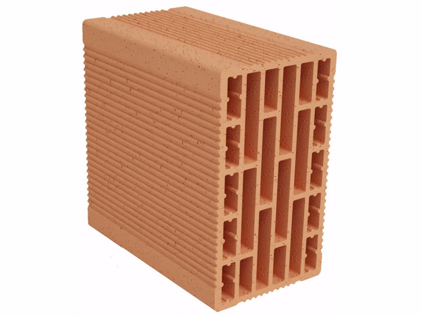 Clay building block Modulo FO MO150 by Fornaci Ioniche