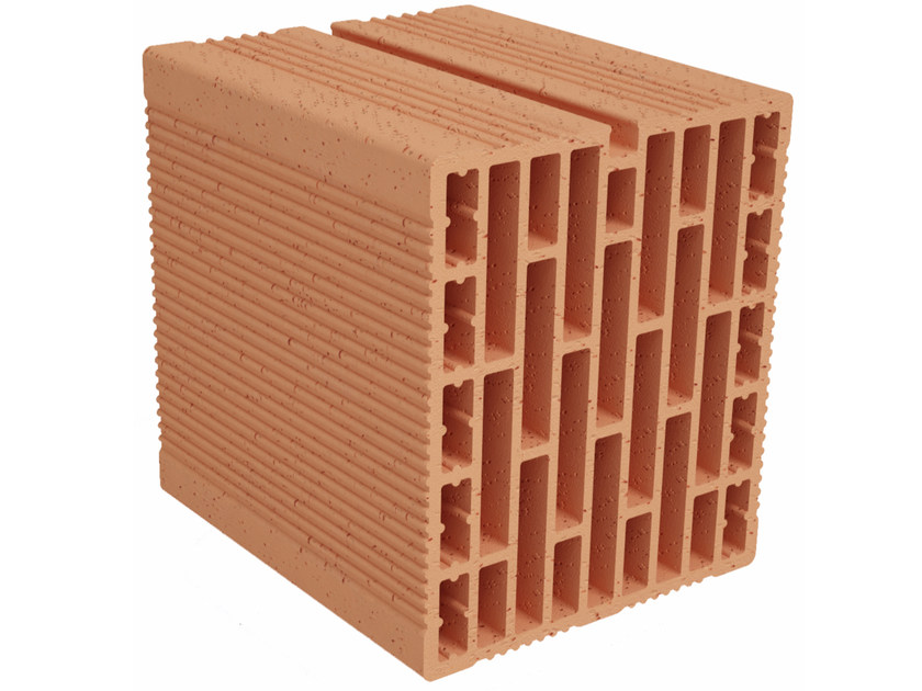 Clay building block Modulo FO MO210 by Fornaci Ioniche