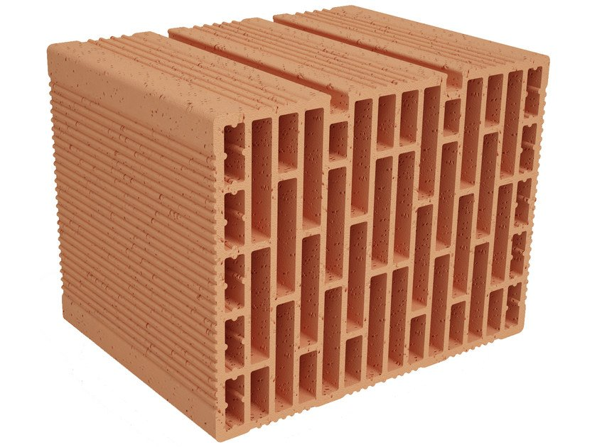 Clay building block Modulo FO MO330 by Fornaci Ioniche