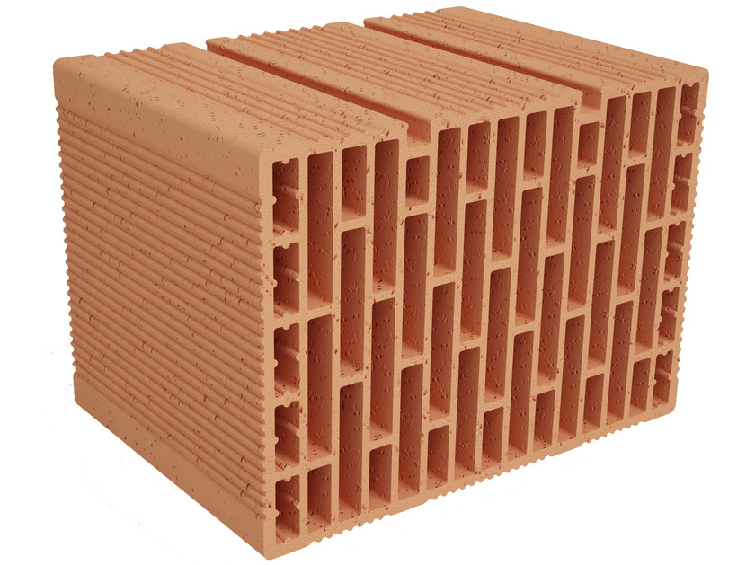 Clay building block Modulo FO MO350 by Fornaci Ioniche