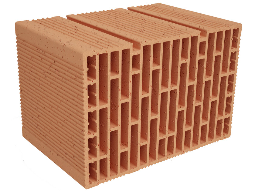 Clay building block Modulo FO MO370 by Fornaci Ioniche