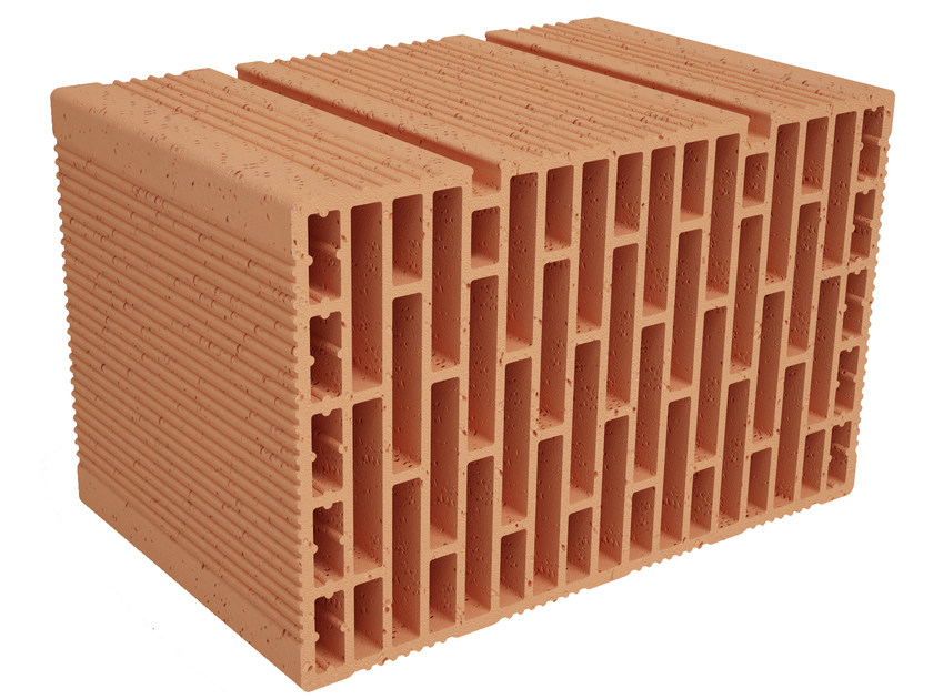 Clay building block Modulo FO MO390 by Fornaci Ioniche