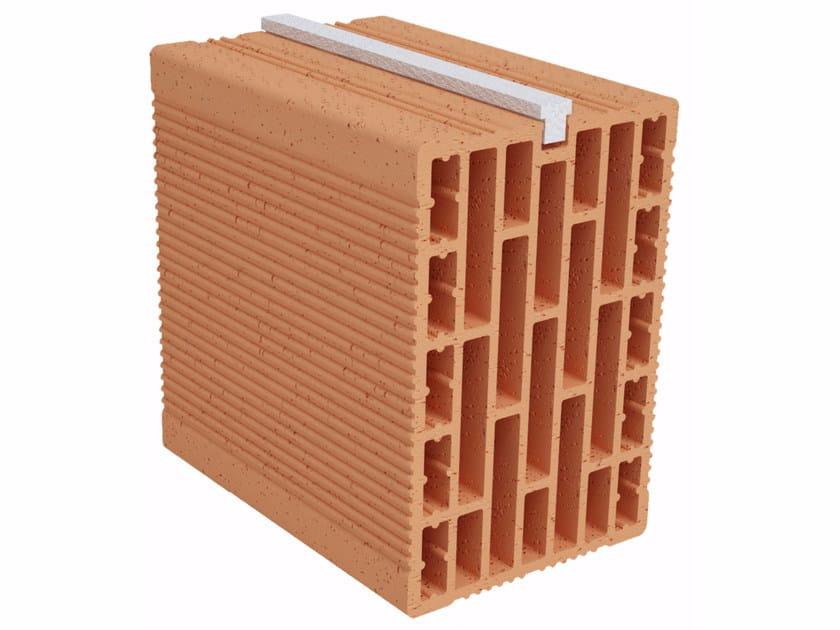 Clay building block Modulo FO Plus MO170 plus by Fornaci Ioniche