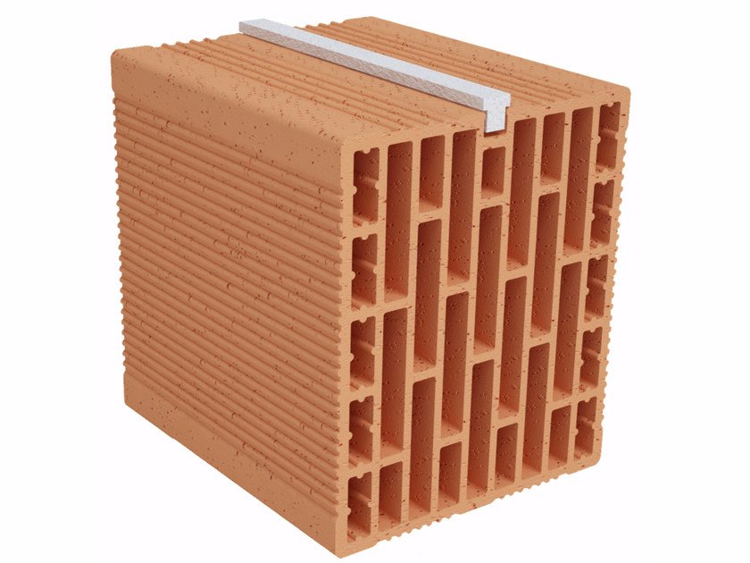 Clay building block Modulo FO Plus MO210 plus by Fornaci Ioniche
