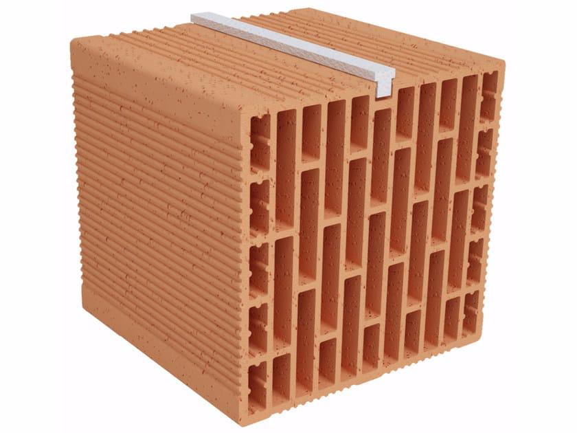 Clay building block Modulo FO Plus MO250 plus by Fornaci Ioniche