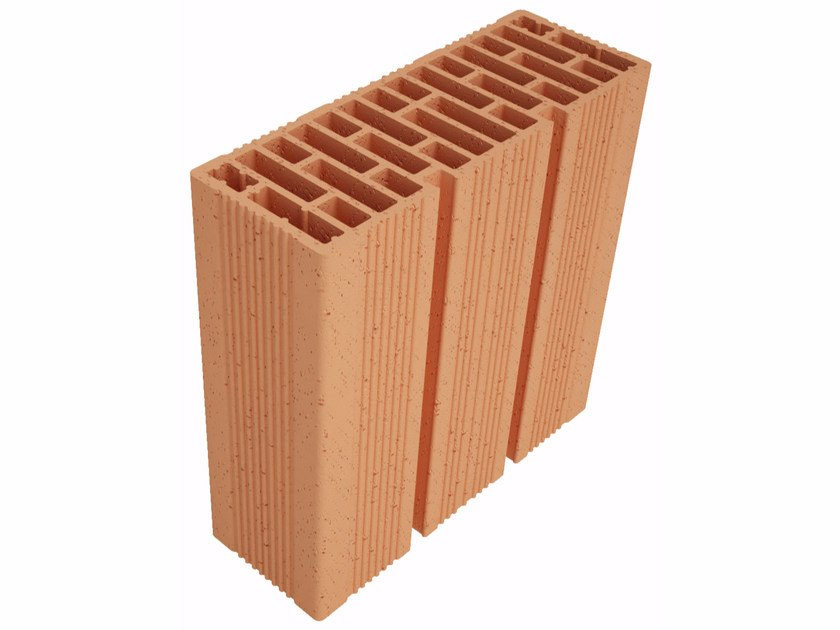 Clay block for internal partition Modulo FO Plus MO33012 by Fornaci Ioniche