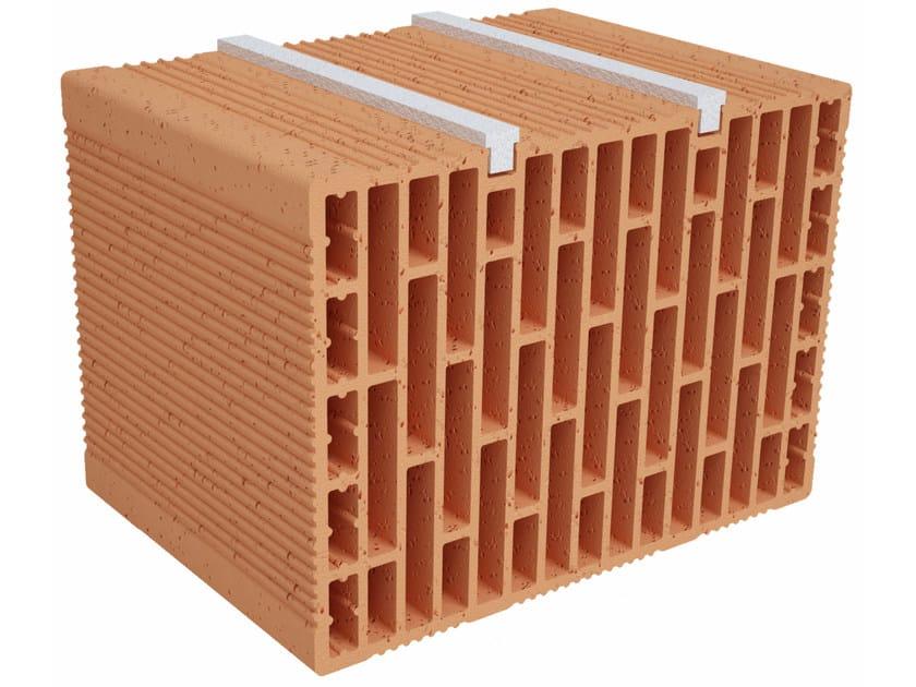 Clay building block Modulo FO Plus MO350 plus by Fornaci Ioniche