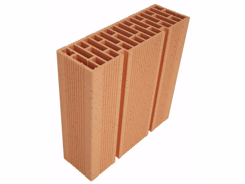 Clay block for internal partition Modulo FO Plus MO37012 by Fornaci Ioniche