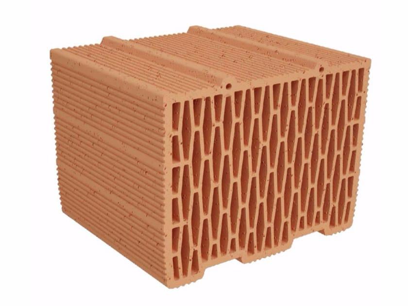 Clay building block Modulo FV FO MVI300 by Fornaci Ioniche