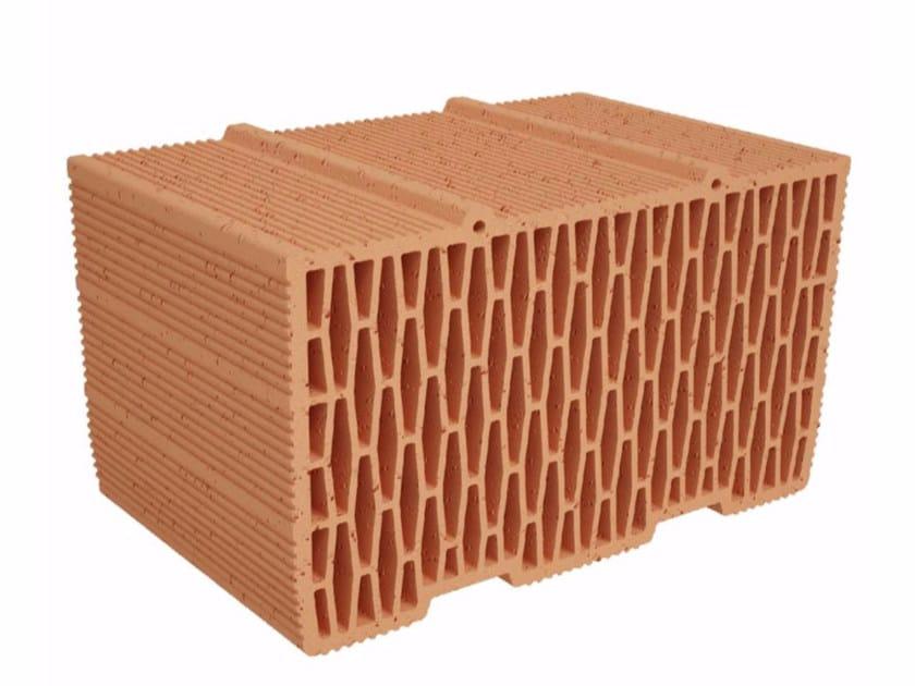 Blocco da muratura in laterizio Modulo FV FO MVI400 by ALA