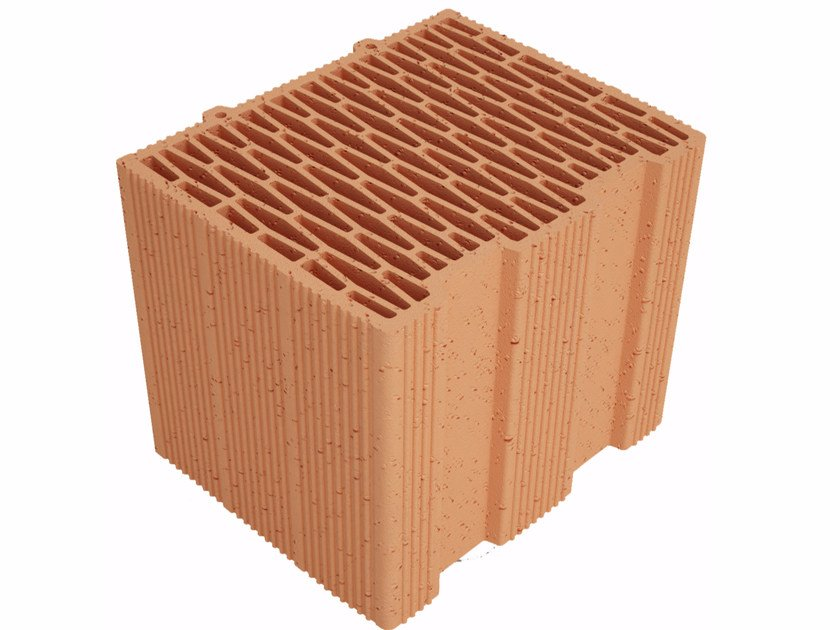 Clay building block Modulo FV MVI300 by Fornaci Ioniche