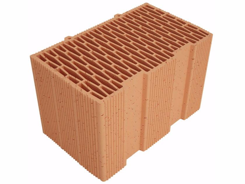 Clay building block Modulo FV MVI400 by Fornaci Ioniche