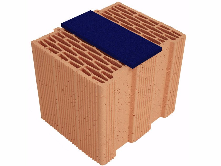 Thermal insulating clay block Modulo FV Plus MVI300 by Fornaci Ioniche