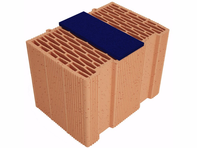 Thermal insulating clay block Modulo FV Plus MVI350 by Fornaci Ioniche