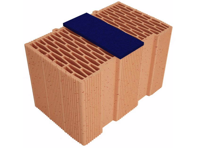 Thermal insulating clay block Modulo FV Plus MVI400 by Fornaci Ioniche