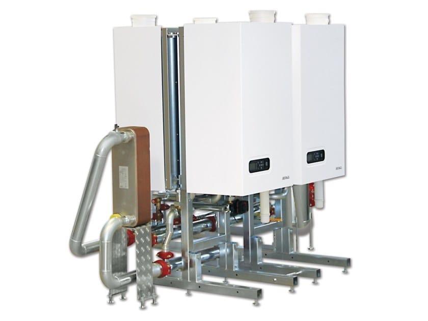 Generatore termico a condensazione modulare MODULO XL EASY schienato by ATAG Italia
