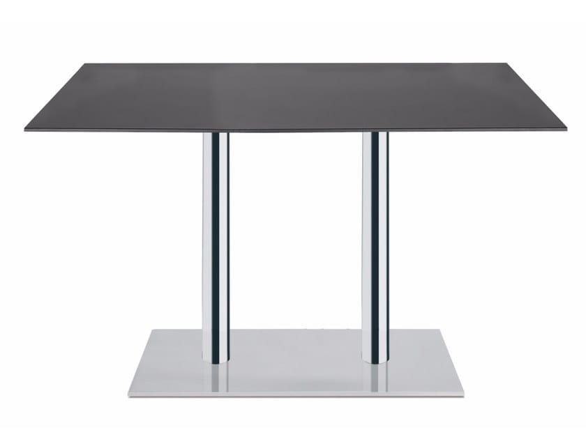 Metal table base MODUS II by Papatya