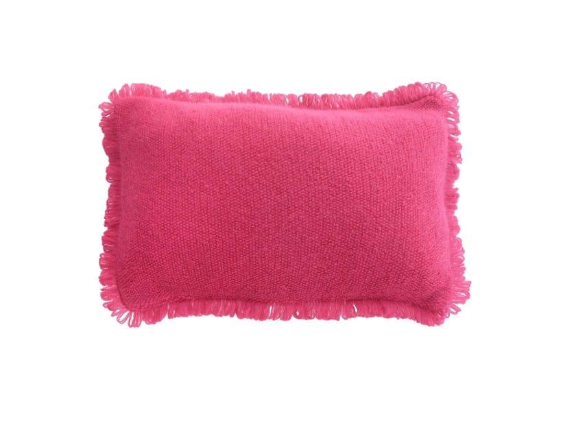 Rectangular mohair cushion Mohair cushion by Sans Tabù