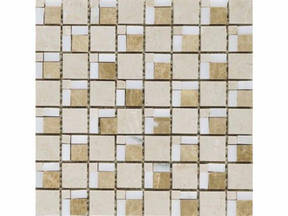 Marble mosaic MOKA by FRIUL MOSAIC
