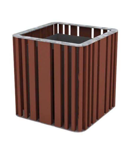 top galvanized steel - pvc brown