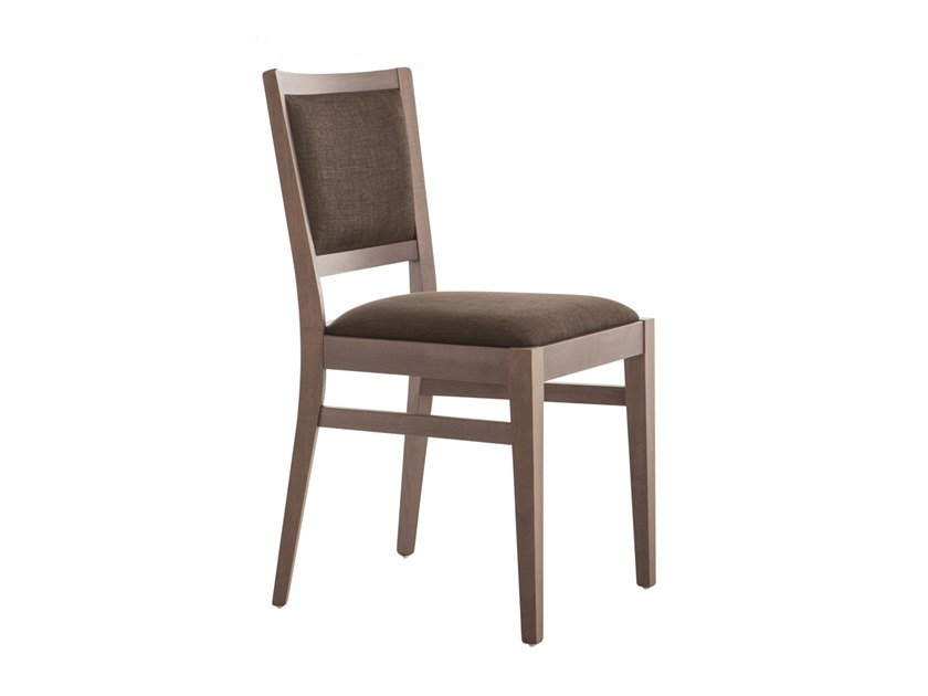 Upholstered beech chair MOMA 472G.i1 by Palma