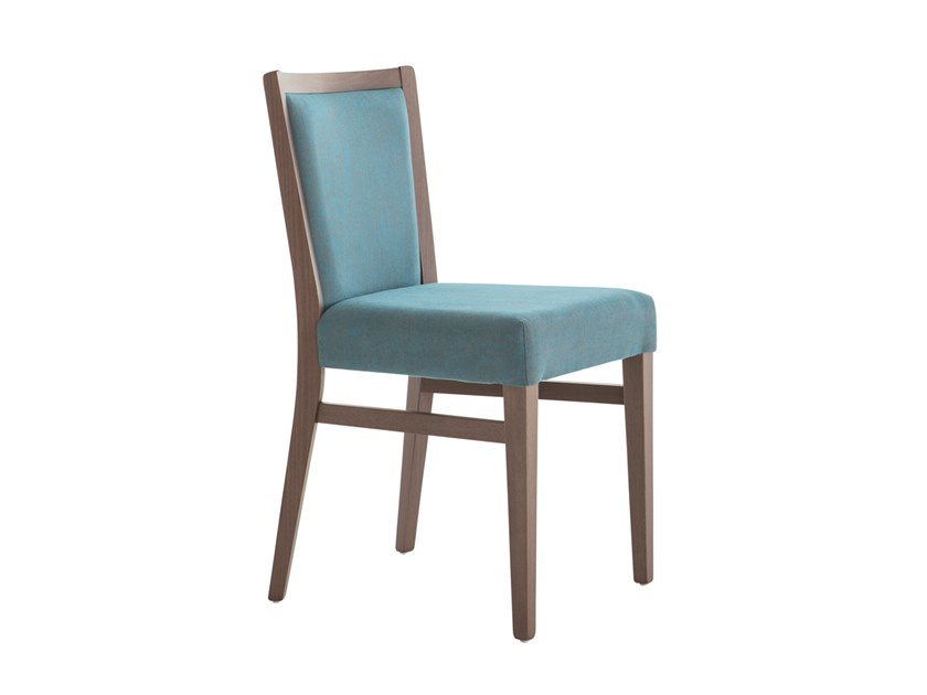 Upholstered beech chair MOMA SOFT 472H.i4 by Palma