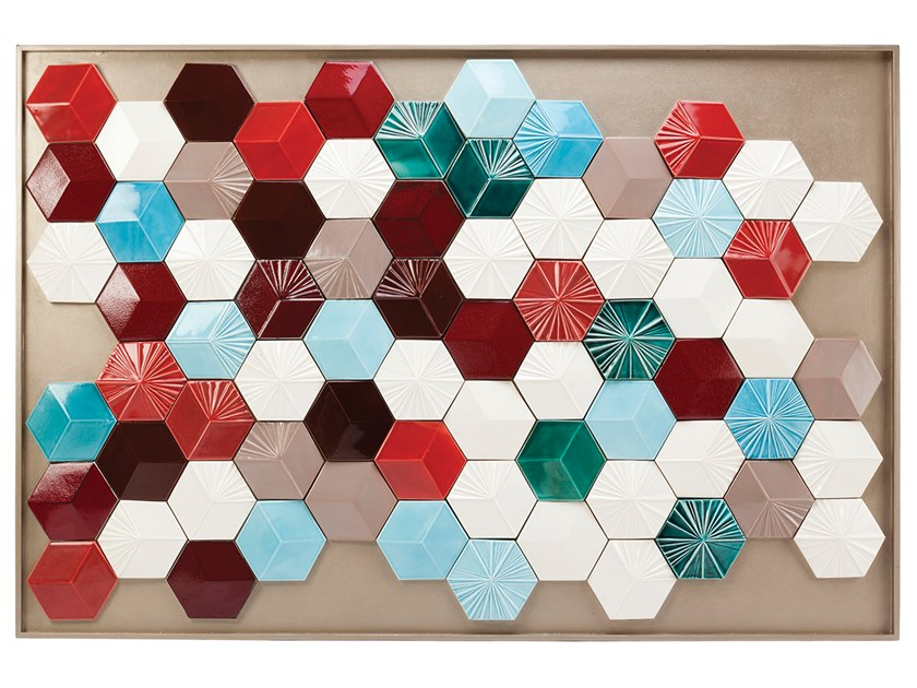 Ceramic Decorative panel MONDEGO by Mambo Unlimited Ideas