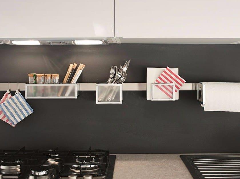 Portautensili da cucina in metallo MONDRIAN Collezione Sottopensili ...