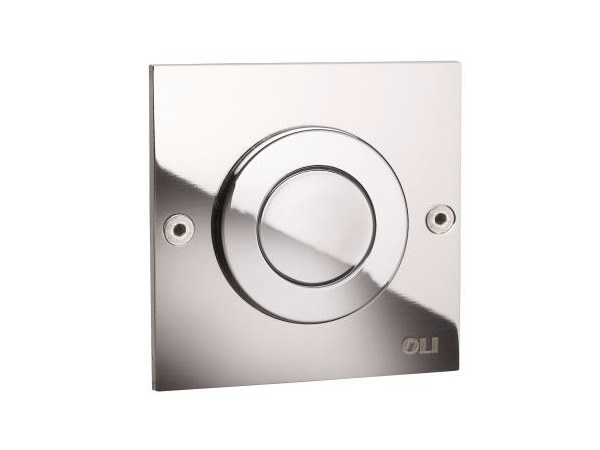 Contemporary style metal flush plate MONO TREND by OLI