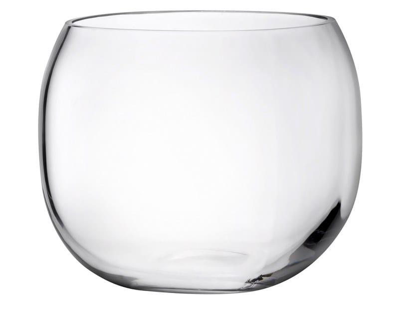 Crystal vase / storage box MONOBOX S by NUDE