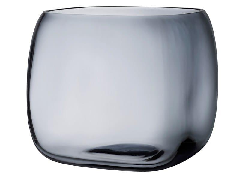Crystal vase / storage box MONOBOX XL by NUDE
