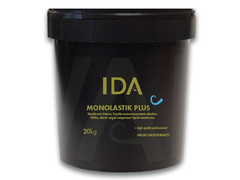 Cement-based waterproofing coating MONOLASTIK PLUS by IDA