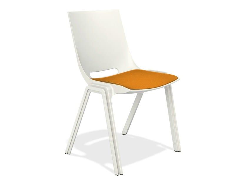 Cadeira de conferência empilhável MONOLINK | Cadeira de conferência by Casala