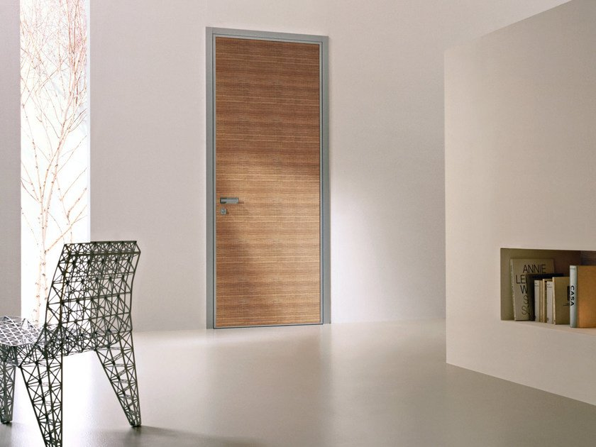 Safety door with concealed hinges MONOLITE - 15.1012 MNT6000 by Bauxt