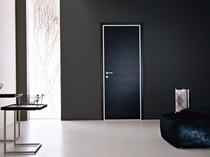 Safety door with concealed hinges MONOLITE - 15.1011 MNT6000 by Bauxt