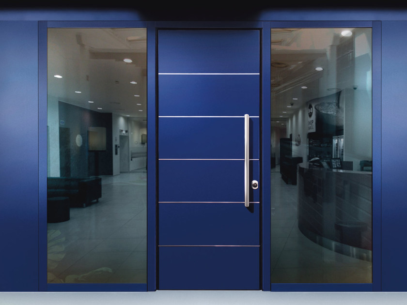 Glazed safety door MONOLITE - 15.1020 MNT6000 by Bauxt