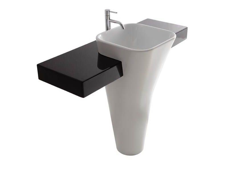 Ceramic washbasin MONOLITE | Ceramic washbasin by GALASSIA