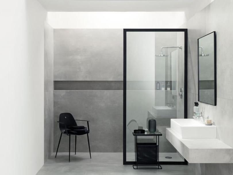 Porcelain stoneware wall/floor tiles MONOLITH EPOXY by tubadzin