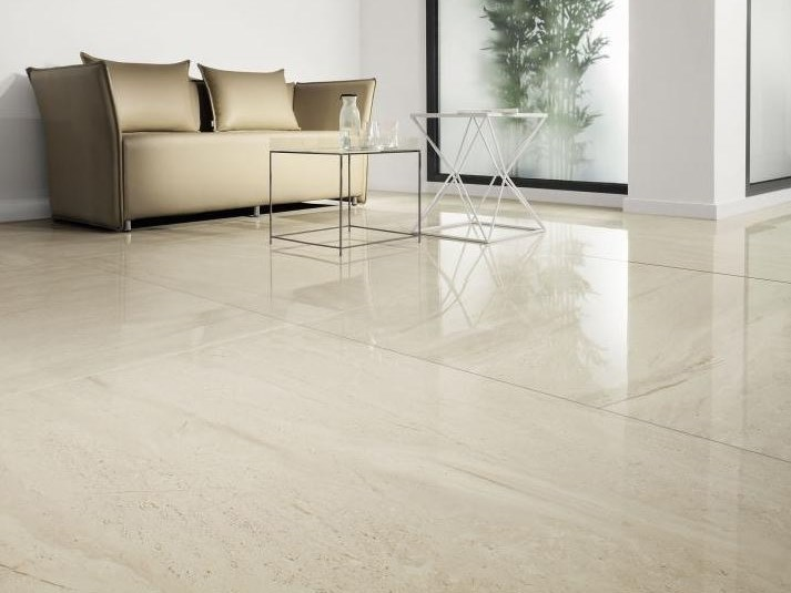 Porcelain stoneware flooring with stone effect MONOLITH FAIR   Flooring by tubadzin