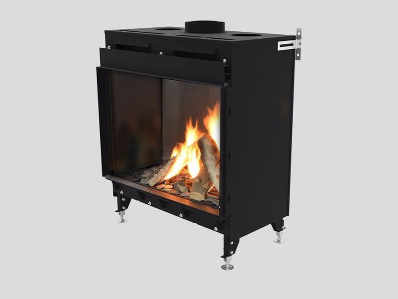 Gas metal Fireplace insert MONROE F by Planika