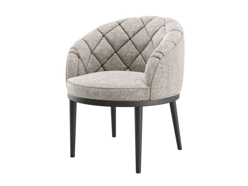 Fabric armchair with armrests MONTE CARLO   Easy chair by FRATO