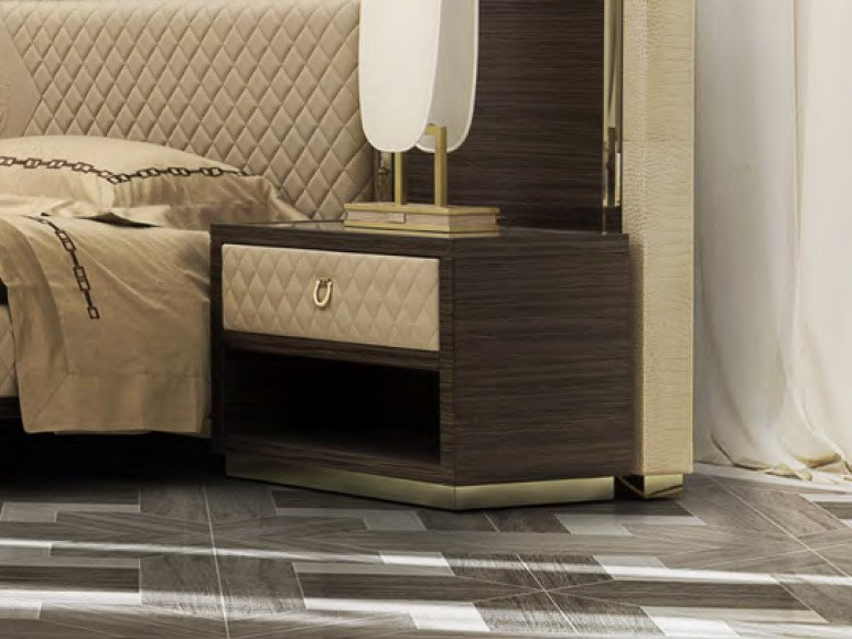 Rectangular bedside table with drawer MONTGOMERY | Bedside table by Formitalia