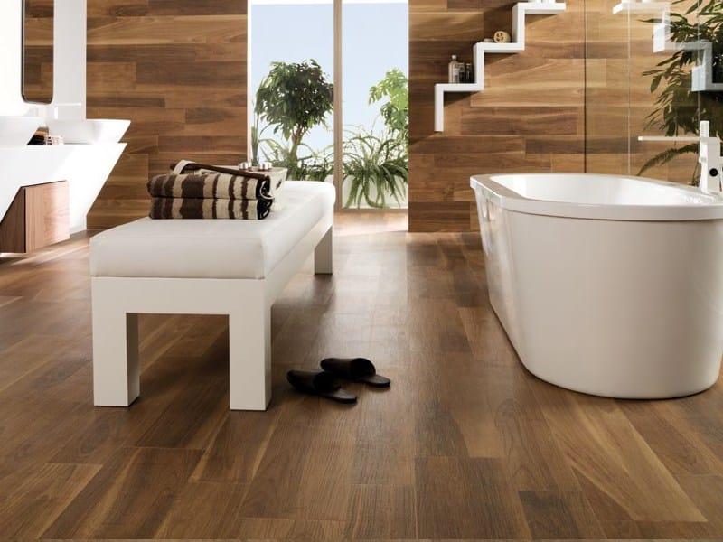 Indooroutdoor Porcelain Stoneware Flooring With Wood Effect