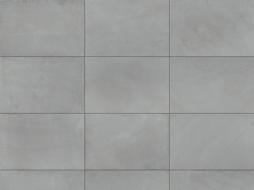 Vehicular porcelain stoneware outdoor floor tiles MONVISO GREY by GRANULATI ZANDOBBIO